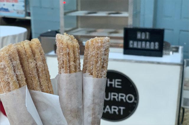 churro cart catering hot churros